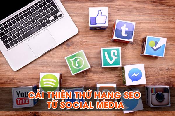 Cải thiện thứ hạng SEO từ social media
